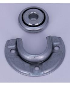 Kogellager met kussen voor asproppen met 12 mm diameter stift